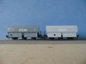 Ree wb-010 coffret de 2 wagons de coke mh45 epoque iii