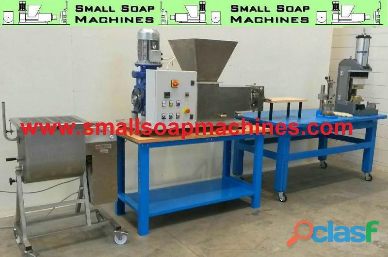 Petites machines production savon