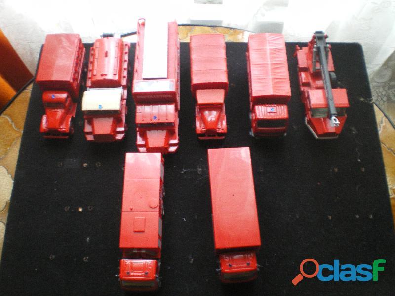 Camions de Sapeurs Pompiers marque SOLIDO.