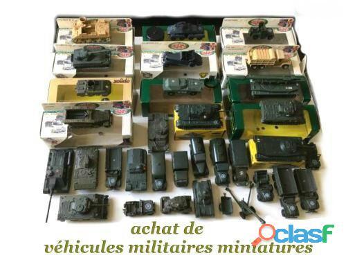 Recherche miniatures militaires neuves & anciennes