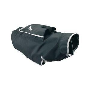 Manteau impermeable pour chien - bobby pocket - t. 48 - noir