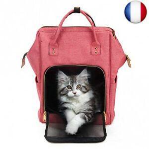 Sac à dos chat sac de transport souple respirant pour (30 x