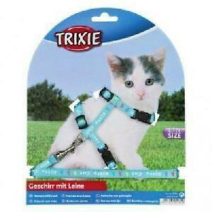 Set harnais avec laisse kitty cat - coloris aleatoire - pour