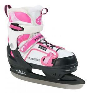 Hudora patins à glace enfant rgo, rose – chaussures de