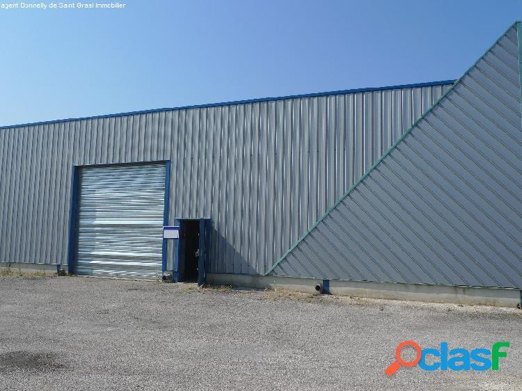 Locaux avec bureaux a vendre a piolenc 84 de 545 m² env.