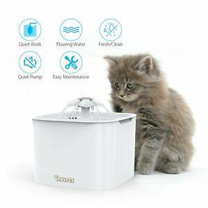 Distributeur à eau fontaine à fleur pour chat,chien avec