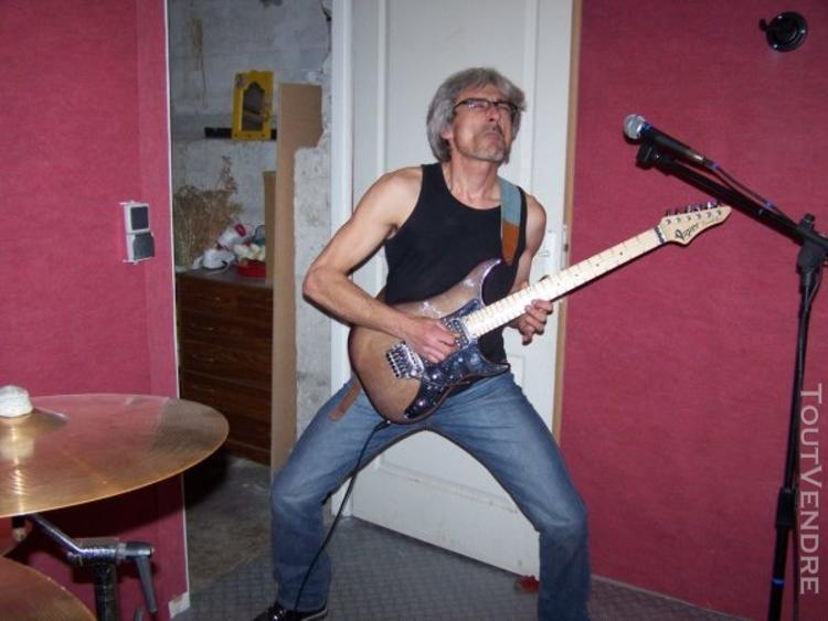 Donne cours de guitare et solfège