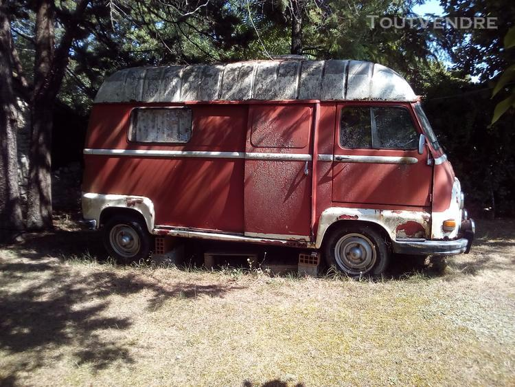 estafette renault camping car