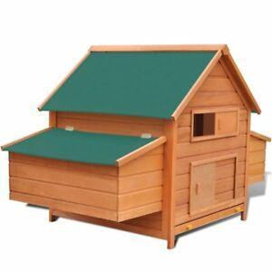 Poulailler bois 157x97x110 cm