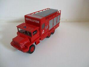 Berliet gbc kt pompiers - solido - 1/50ème - en emballage