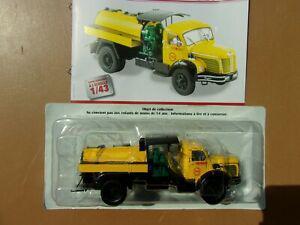 Berliet glm 10 r camion citerne motopompe entreprise roger