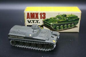 SOLIDO AMX 30 TOUT TYPE LOT ACCESSOIRES D/'ORIGINE PLASTIQUE KAKI
