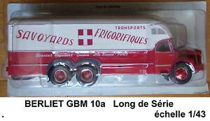 N° 34 camion berliet gbm 10 a transports m. dougoud 1/43