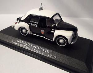 Ixo COF007 1//43e Edition Limitée Renault 4CV PIE Police de Monaco