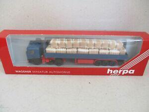 Semi remorque man **transport de cotons** - herpa wagener -