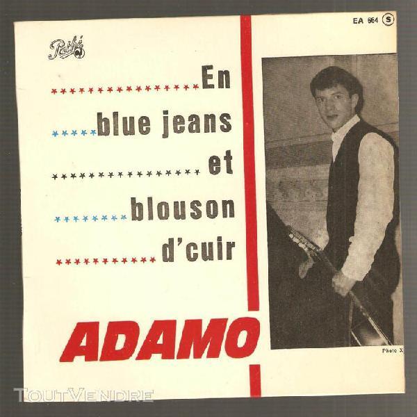 En blue jeans et blouson d'cuir / laisons dire / fais - toi