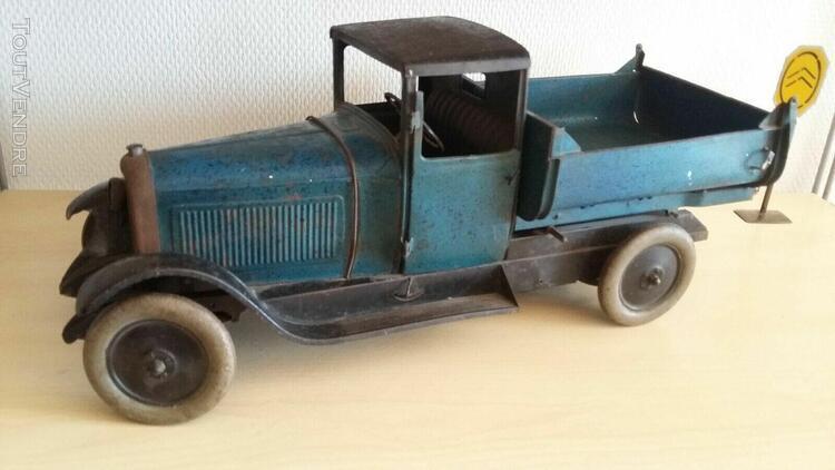 Jouet citroen c6 camion benne basculante long 42 cm