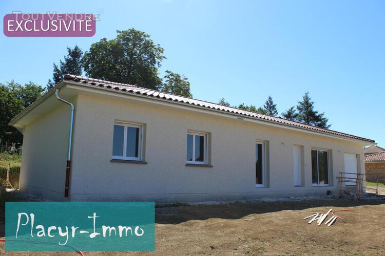 Maison neuve plain pied 114.7 m², 5 chbs
