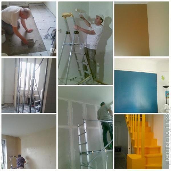 Peinture et petit travaux a domicile