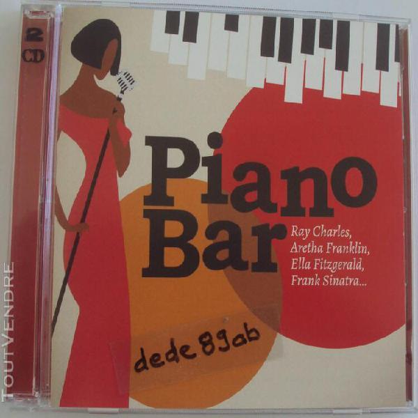 Piano bar. 2 c ds. 30 titres. enregistrements remasterisés