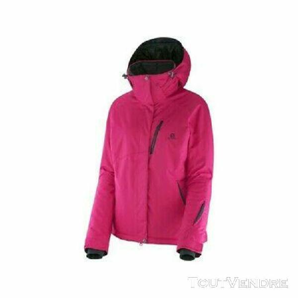 Veste ski femme salomon express rose n°24