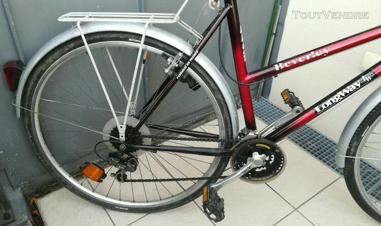 Vélo vtc femme beverly shimano - bon état général