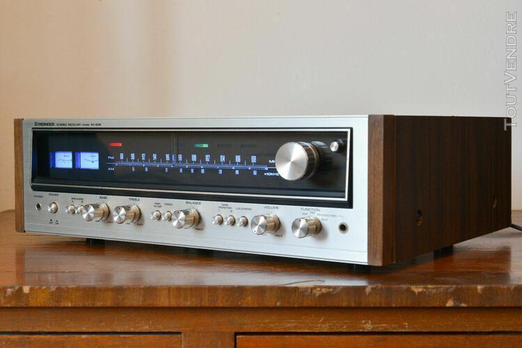Amplicateur-tuner pioneer sx-636 restauré