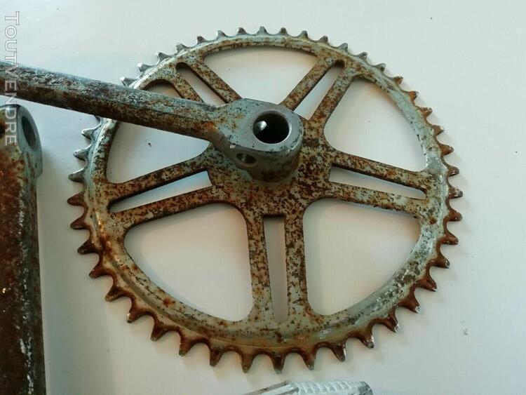 Vélo ancien cycle motos ALCYON pneu DUNLOP buvard grand modèle état neuf 16 X 24