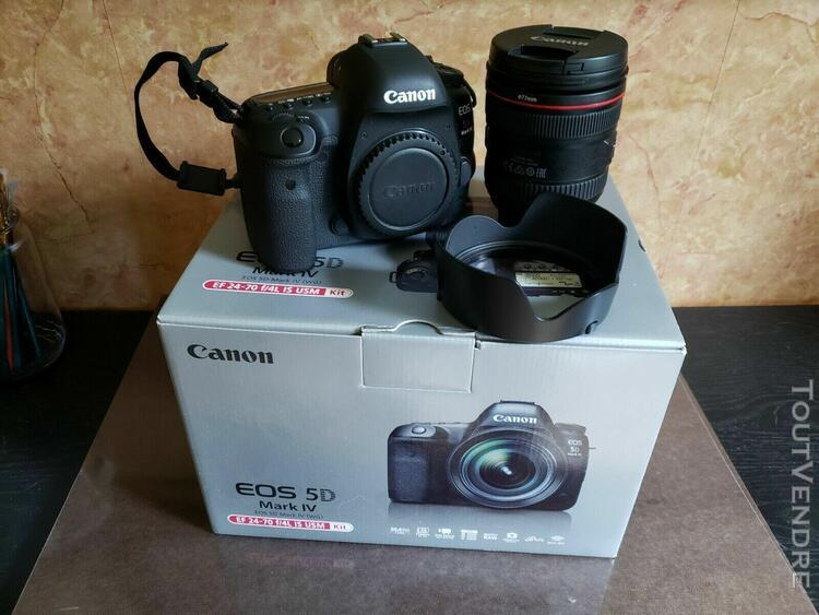 Canon eos 5d mark iv + ef 24-70mm f/4l is usm