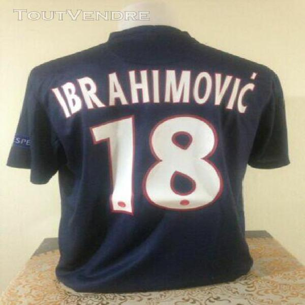Maillot psg home 2012/2013 sizel ibrahimovic authentic jerse