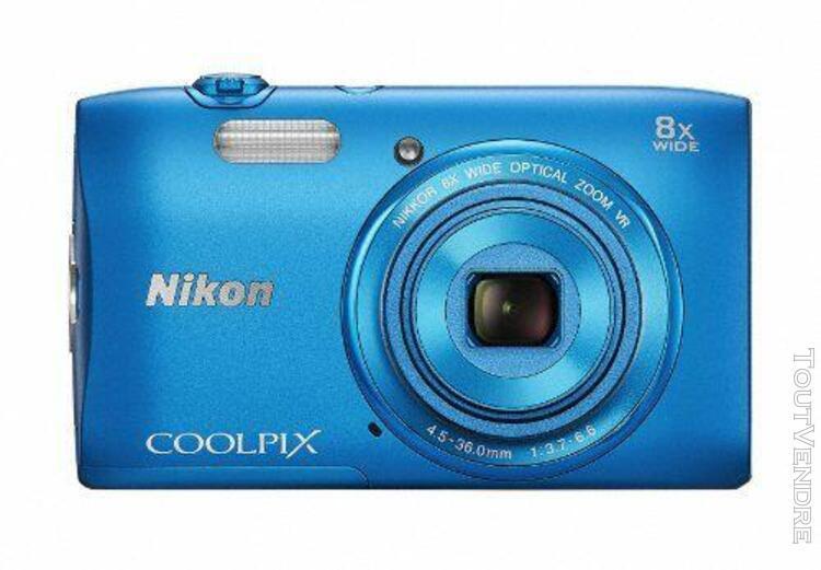 Nikon appareil photo numérique nikon coolpix s3600 8 fois
