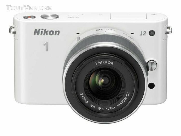 Nikon nikon 1 j2 - appareil photo numérique - hybride -