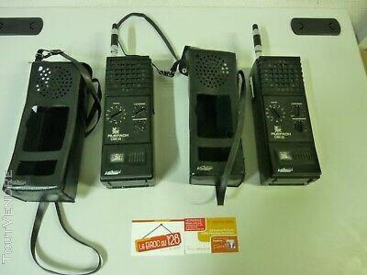 Paire de talkie walkie kaiser ruefach cbx 13