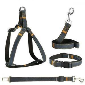Powerowl 4 en 1 harnais chien régable ceinture de
