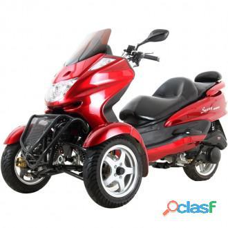 Scooter tricycle à trois roues sunny 150cc   tronc gratuit à deux roues avant   mc_d150tka