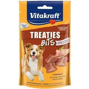 Treaties bits pate de foie - pour chien - 120 g - vitakraft