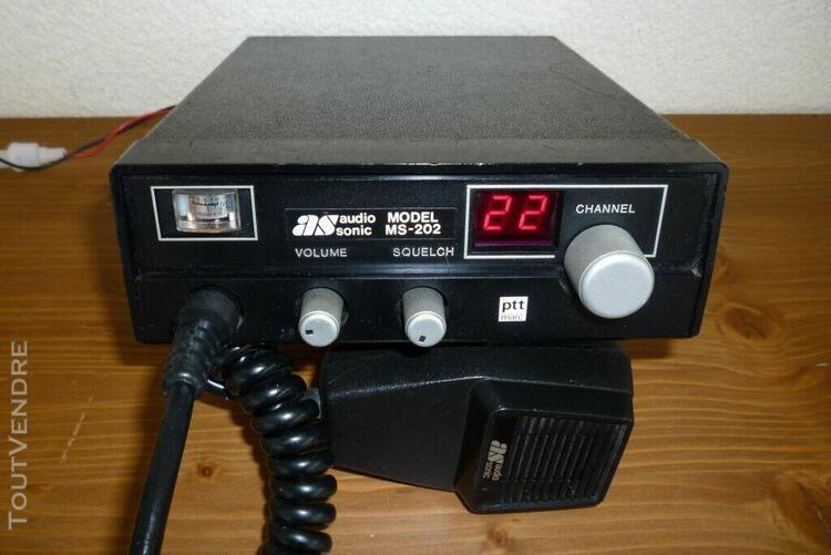 Vends cb collector audiosonic en très bon état