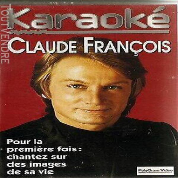 Vhs hi-fi stéréo claude francois 16 titres les plus grands