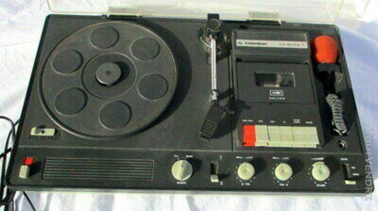 Vintage. chaîne compacte thomson ck 6040 t. (vinyles, k7, +