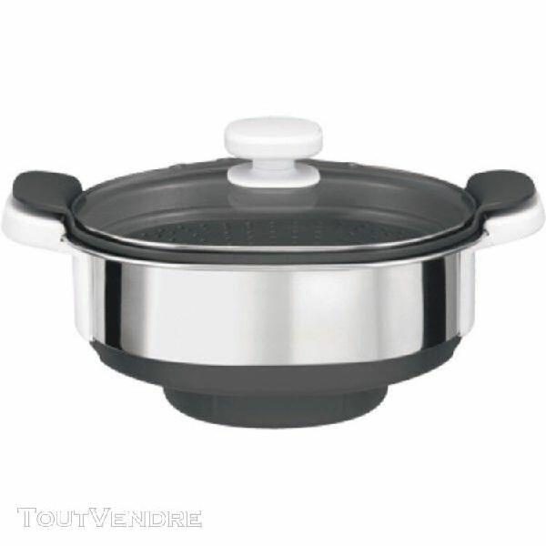Accessoires cuiseur vapeur robot companion moulinex xf384b10