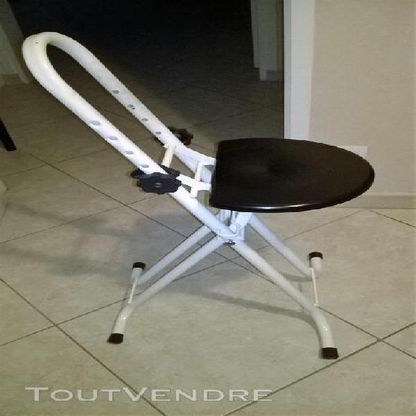 Chaise anti-fatigue pour repasser, bricoler, cuisiner...