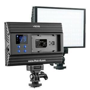 Phot-r 144 dimmable led bi-couleur sur caméra vidéo
