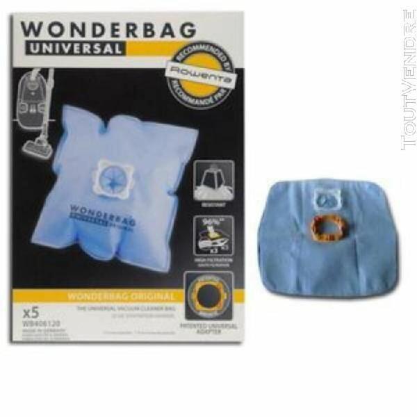 Sacs aspirateur standard wonderbag 5 unidades 3221613010607