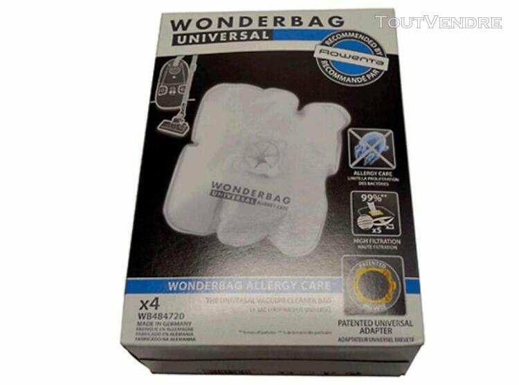 Sacs aspirateur standard wonderbag 5 unidades 3221613011208
