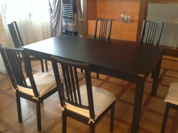 Chaises Table Ikea Offres Octobre Clasf