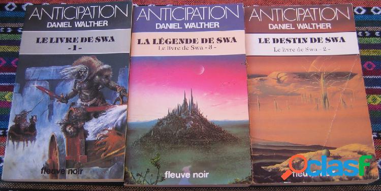 Le livre de swa (3 tomes), daniel walther