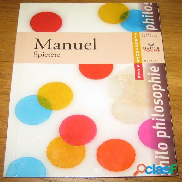 Manuel, epictète