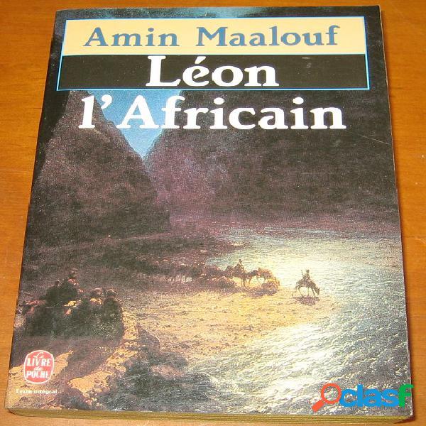 Léon l'africain, amin maalouf