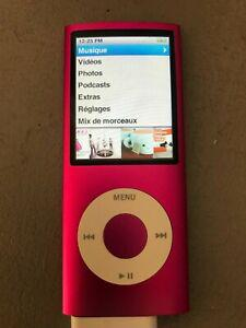 Apple ipod nano 8 go rose