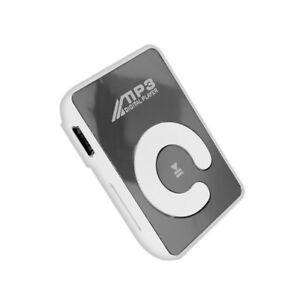 Mini mirror clip mp3 player portable fashion sport usb